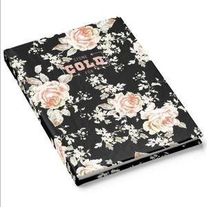 Stone Cold Fox Floral Notebook